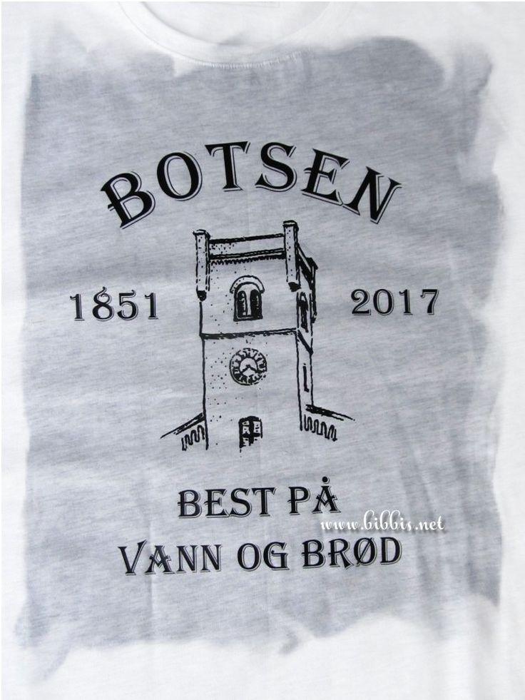 En kompis jobber på Botsen og det skal jo legges ned. I den forbindelse ba han meg om å laget et par T-skjorter til avslutningsfesten. Gø...