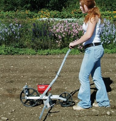 how to build a hand seeder