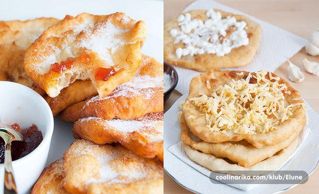Obozavam peceni kruh, a posebno langose - tradicionalni madarski kruh koji je isto tako popularan u susjednim drzavama. Tokom mjeseca prosinca u Londonu