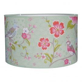 Lamp van pip studio birds in paradise mint groen van www.roozje.nl. Kids lamp nursery
