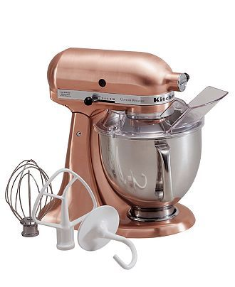 This is my dream mixer. KitchenAid only different color