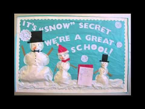 Image result for school bulletin board ideas for christmas