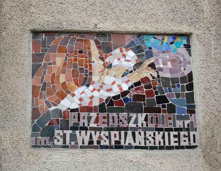 Photo by Bogusława Kania http://krktype.tumblr.com/post/10657523438/przedszkole-nr-1-im-st-wyspianskiego-ul