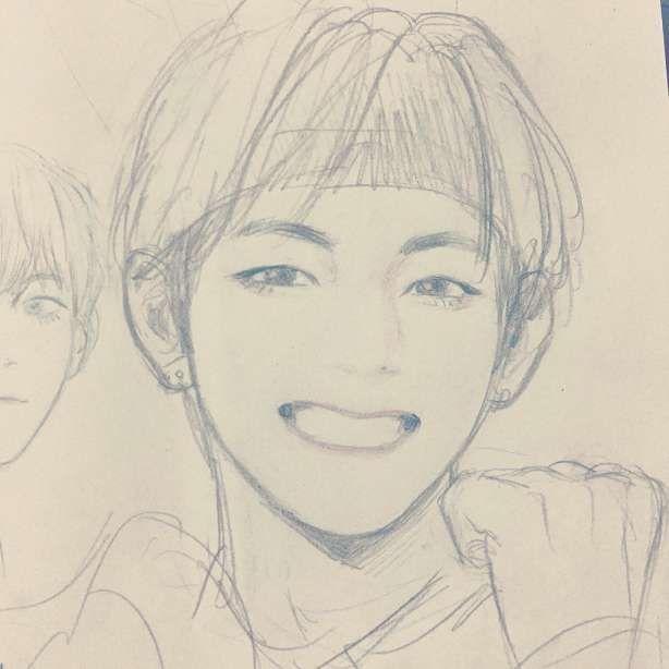 15 Anime Easy Bts Drawing Anime Bts Drawing Easy Dibujos Faciles Dibujos Bts Dibujo