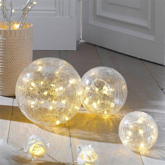 mettez de la magie dans votre d 233 co avec ces 3 boules lumineuses de tailles diff 233 rentes 224 poser