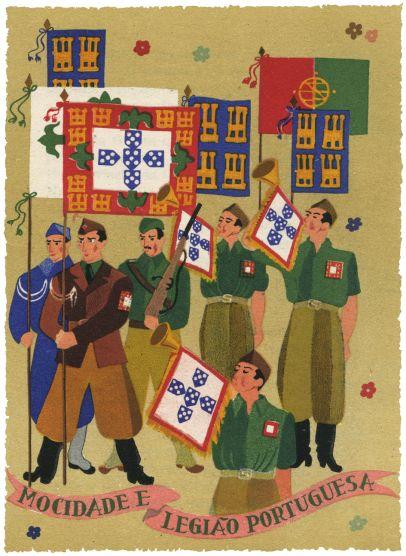 História de portugal para meninos preguiçosos, Olavo D'Eça Leal, ilustrações de Manuel Lapa, Livraria Tavares Martins, 1943