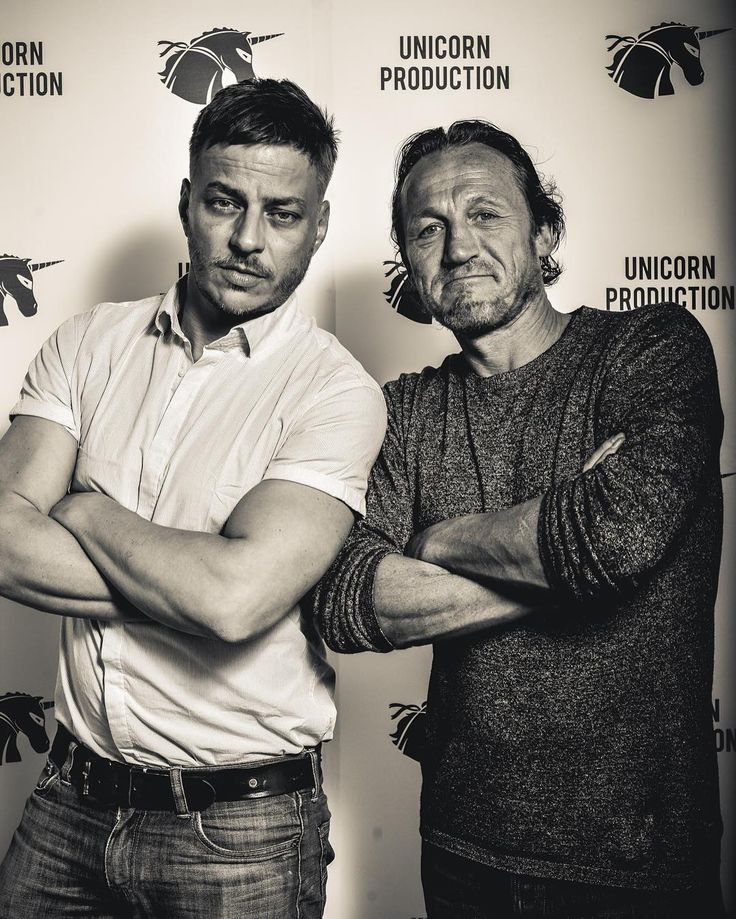Tom Wlaschiha & Jerome Flynn                              …