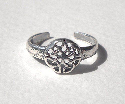 925 Sterling Silver Celtic Flower Toe or Knuckle Ring Pavlos pr http://www.amazon.com/dp/B00NSP13QO/ref=cm_sw_r_pi_dp_2Jfiub19GBVBN
