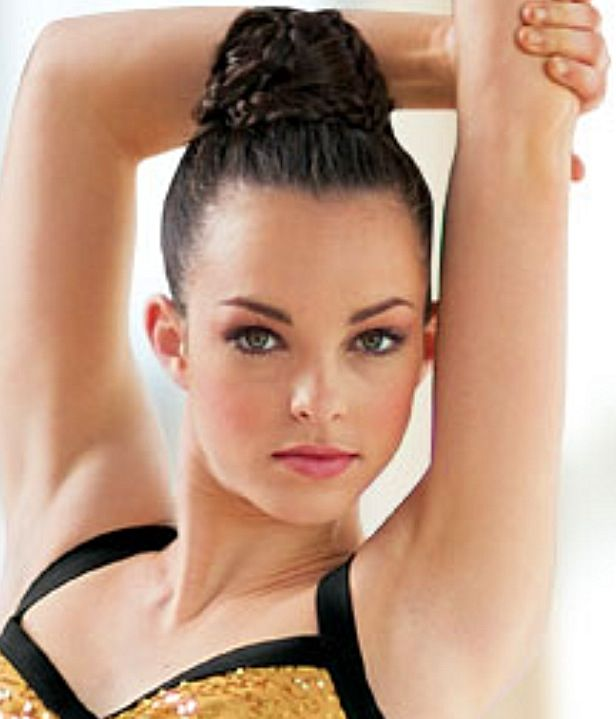 Sensational 1000 Images About Gymnastics Hairstyles On Pinterest Updo Short Hairstyles Gunalazisus