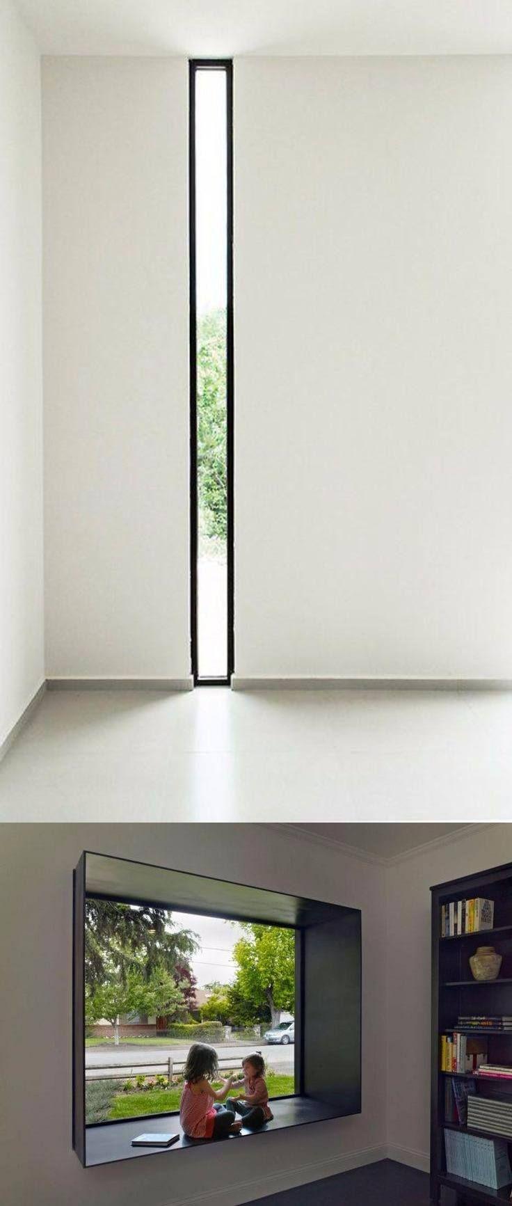 Farmhouse Architecture, Interior Architecture, Minimal House Design, Interior Decorating, Interior Design, Window Design, Minimalist Home, Building Design, New Homes