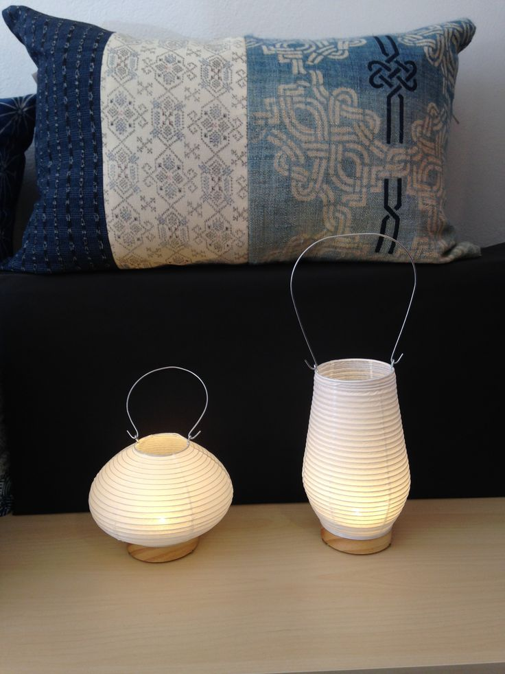 Washi Paper Lantern With Led Light By Ono Rinao