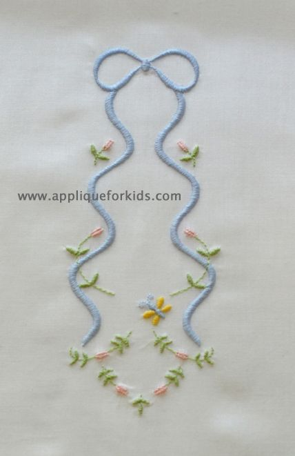 Shadow Work & Embroidery :: Embroidery Long Bow