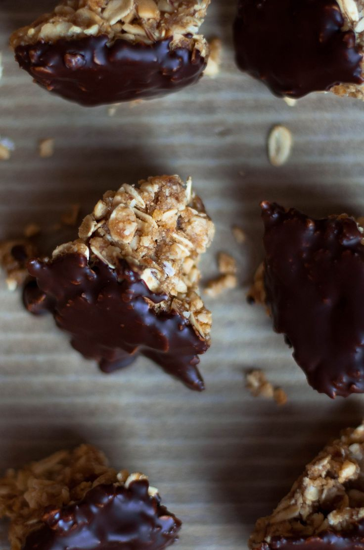 Homemade Peanut Butter & Honey Granola Bar Bites – The Scratch Artist – #bites #…