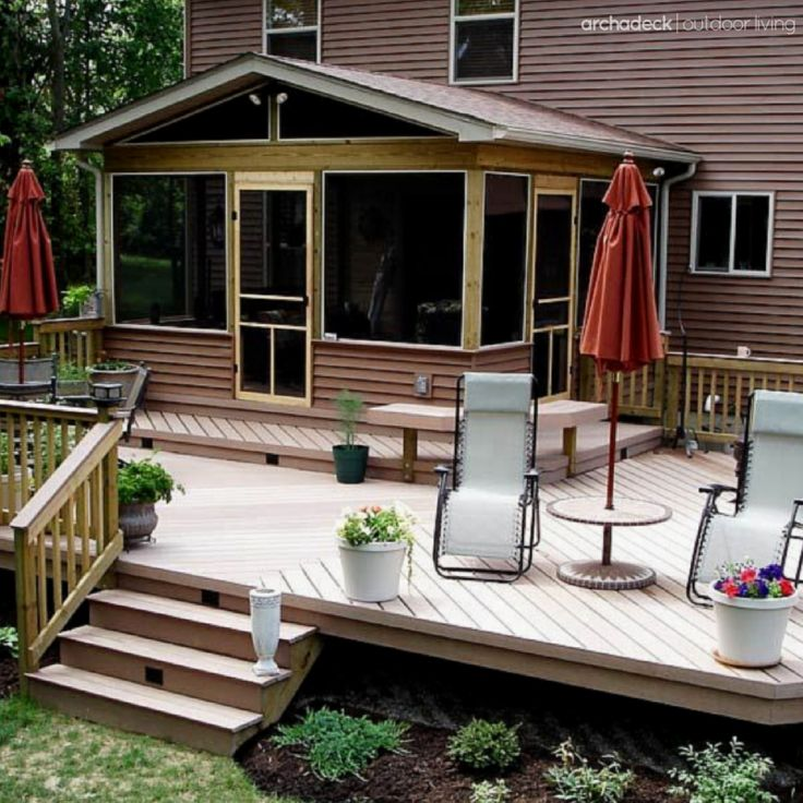 Porch Vs Deck Which Is The More Befitting For Your Home: There Are Two Considerations For A Screen Porch Door
