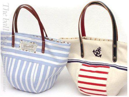 Летняя сумка в морском стиле (9 Фото)