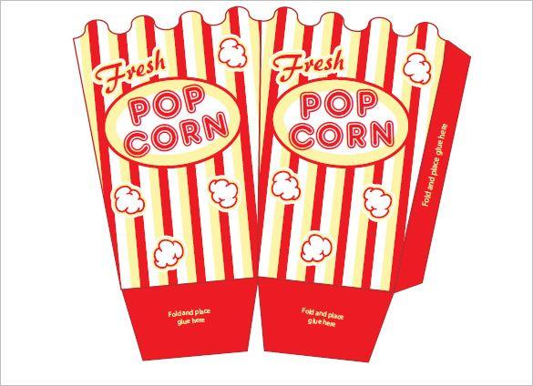 Pin On Pop Corn Box