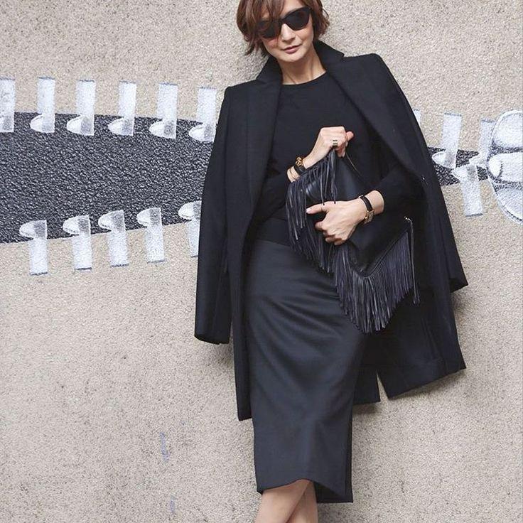 いいね!3,061件、コメント15件 ― TOMIOKA YOSHIKO OFFICIALさん(@yoshikotomioka)のInstagramアカウント: 「#outfit」