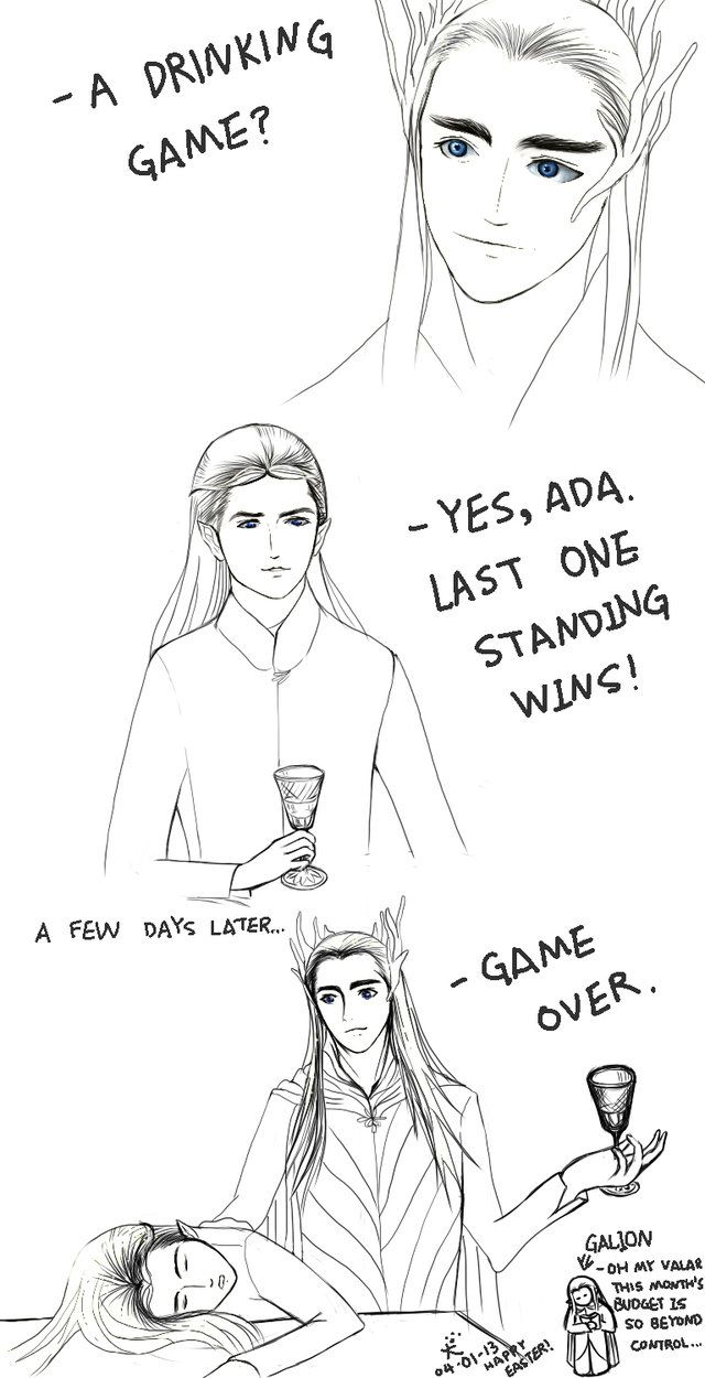 The Hobbit  Drinking Game
