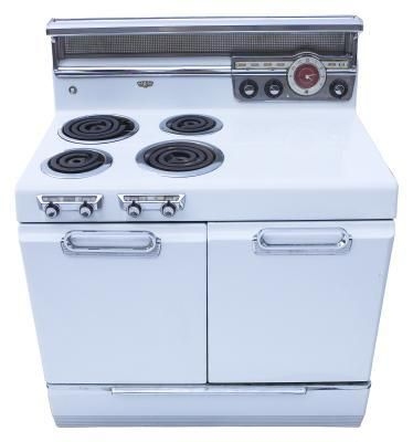 Paint your stove instead of a new one. also see utube - search How to paint Oven Stove Range - My oven make over. Also see printing laminate writing