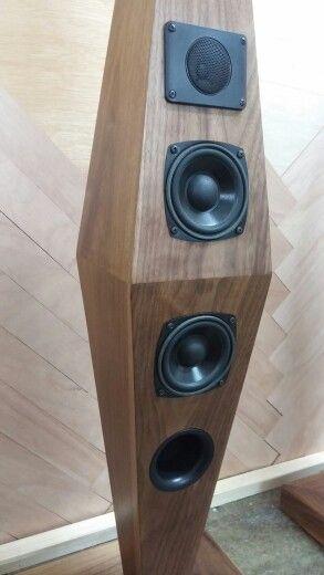 wooden audio housing