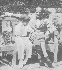 Christopher Robin Milne and A.A. Milne