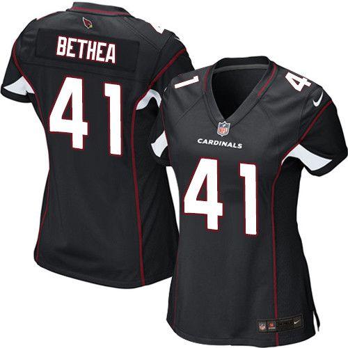 $24.99 Women's Nike Arizona Cardinals #41 Antoine Bethea Limited Black Alternate NFL Jersey