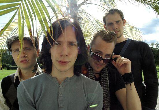 Thomas, Tobias, Martin and Simon in Subvision.