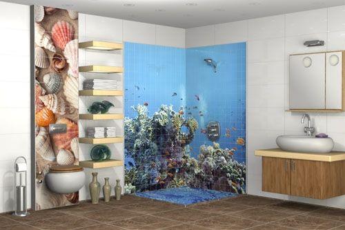 Banyo 3D Cam Mozaik  BNY  1973 -2