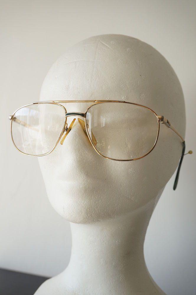 monture lunettes de vue ou soleil LACOSTE pilote Vintage VTG 80 METAL