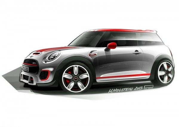 2014 Mini John Cooper Works Concept 600x427 2014 Mini John Cooper Works Concept and Images