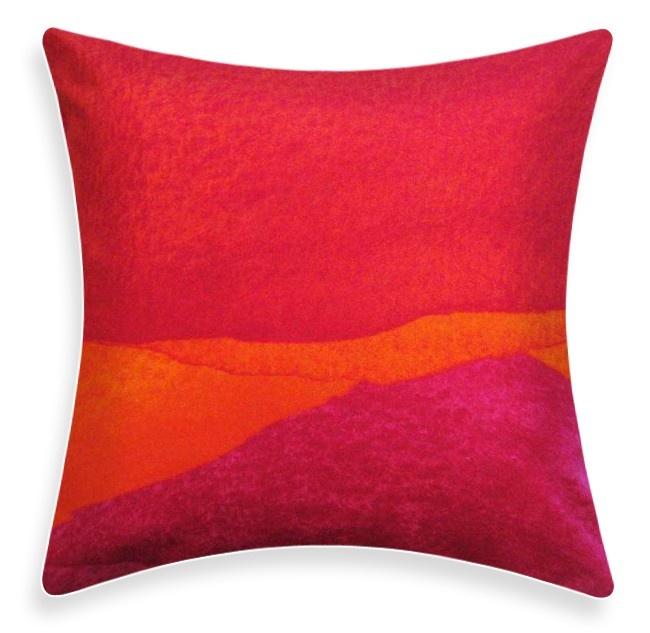 Marimekko Pillow Poukama Puuvilla Pink