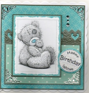 Me to You Tatty Teddy card.
