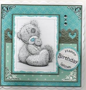 Me to You Tatty Teddy card.