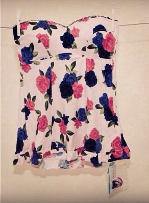 CUTE SINGLET WITH FLOWERS: SEAFOLLY