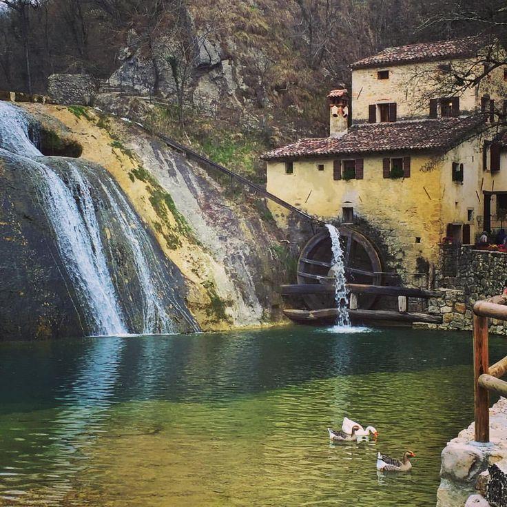"""The """"Molinetto della Croda"""" is a XVII century watermill located in Refrontolo (Treviso)."""