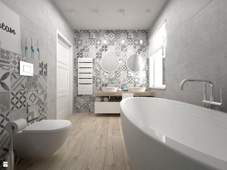Łazienka styl Skandynawski - zdjęcie od BIG IDEA studio projektowe - Łazienka - Styl Skandynawski - BIG IDEA studio projektowe