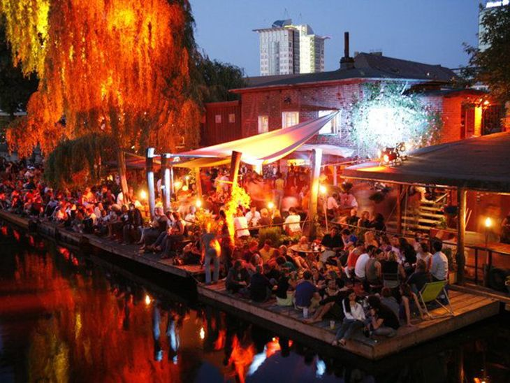 Kreuzberg, Berlin, where you can find the coolest bars and clubs.