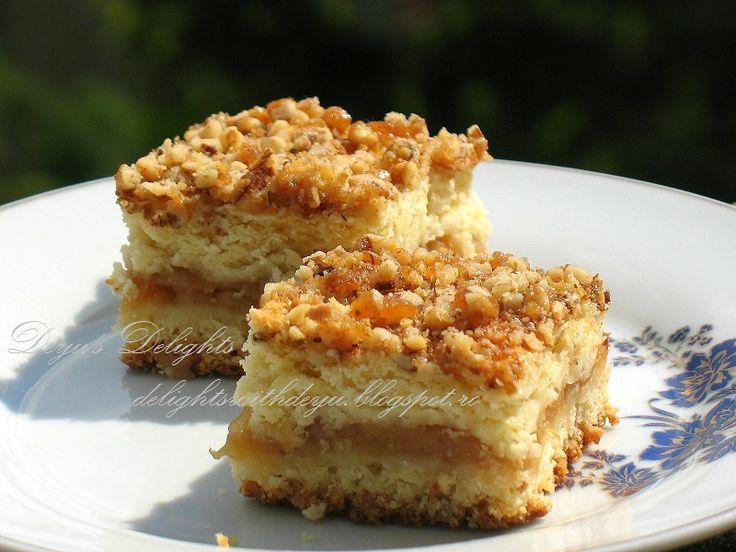 Reteta Placinta cu mere si nuci caramelizate - Prajituri