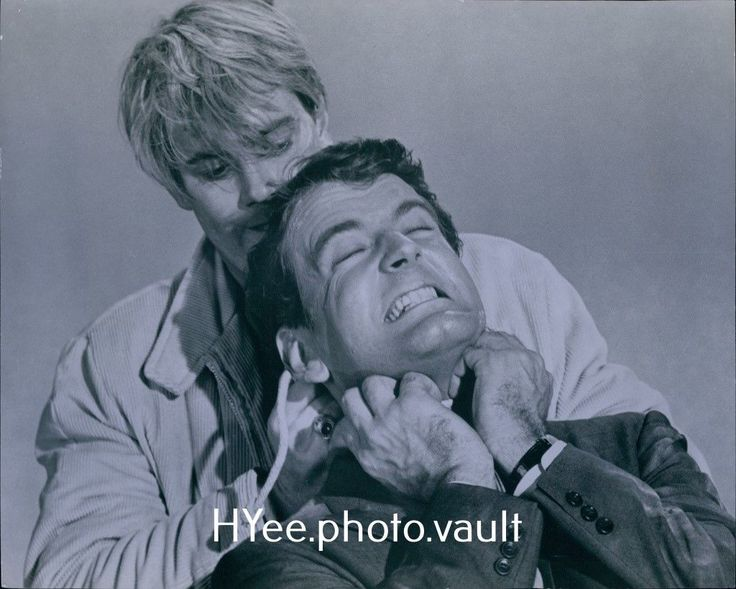 LY22 1960s Original Photo TROY DONAHUE & NICOLAS COSTER My Blood Runs Cold | eBay