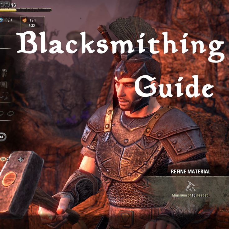 Blacksmithing Guide In Depth | Elder Scrolls Online Wiki
