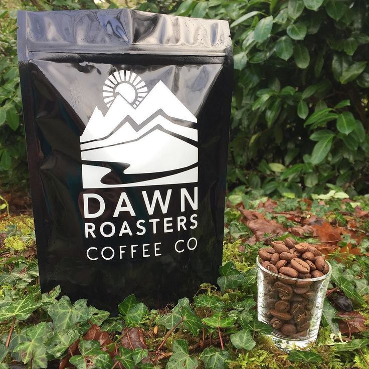No filter needed. #dawnroasters #coffeebeans