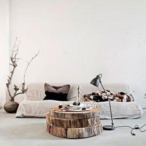 3 grote stukken hout als bijzettafel via lottemanou