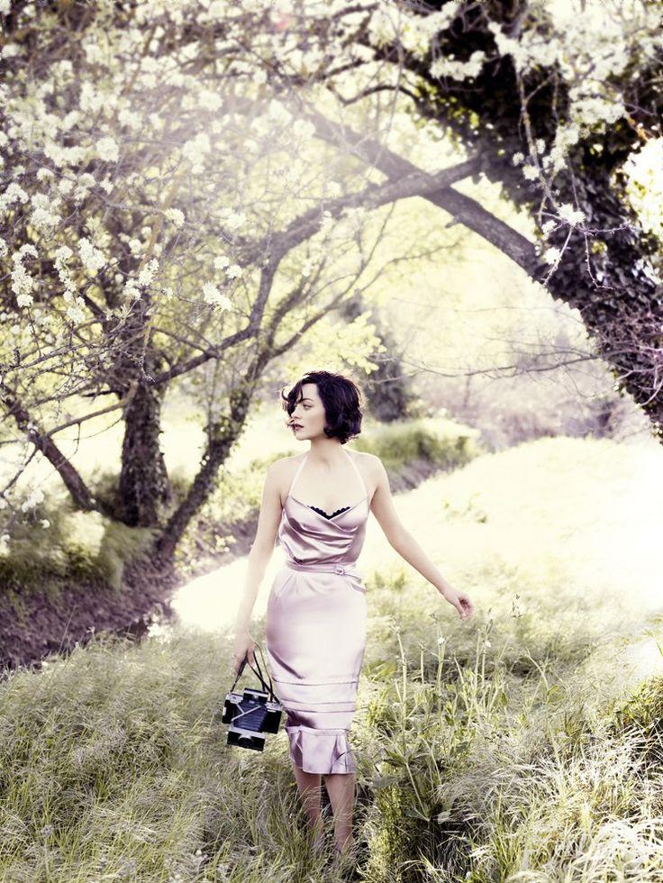 ☆ Marion Cotillard | Photography by Mario Testino | For Vogue Magazine US | July 2010 ☆ #marioncotillard #mariotestino #vogue #2010
