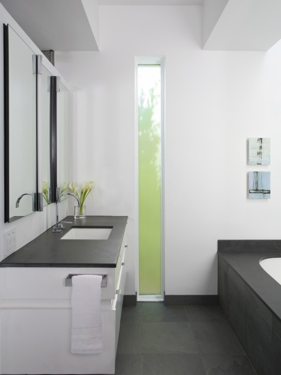 Smoked Glass Window Bathroom Design, Pictures, Remodel, Decor and Ideas - page 8