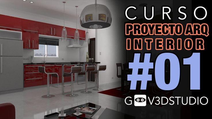 3ds max Proyecto Arquitectura Interior -01- Depurar, organizar e importa...