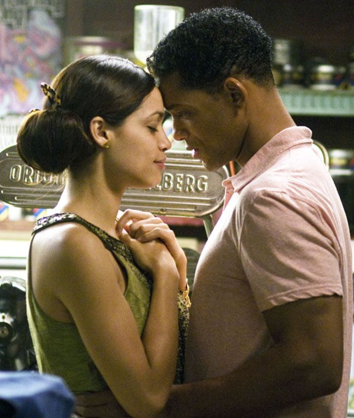 "Will Smith y Rosario Dawson en ""Siete Almas"" (Seven Pounds), 2008"
