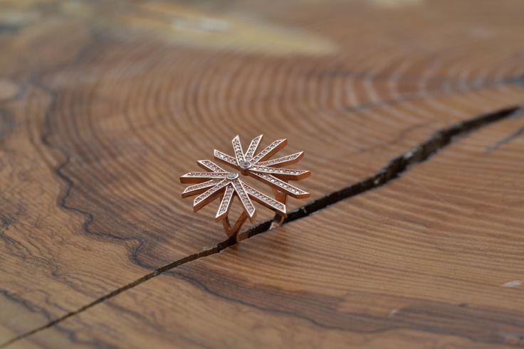 A personal favourite from my Etsy shop https://www.etsy.com/listing/291279463/adjustable-geometric-star-ring-rose-gold