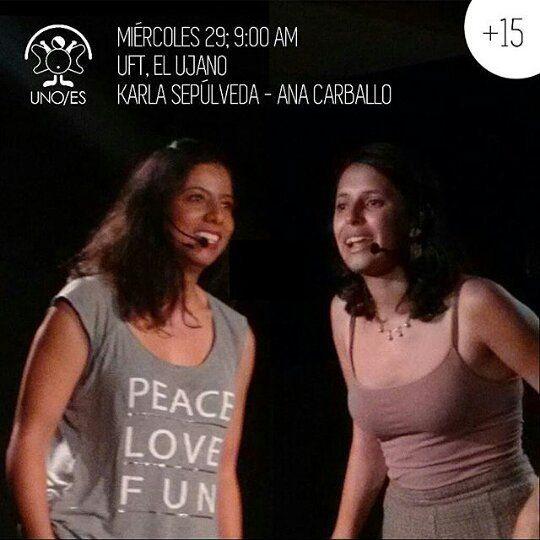 Via  @uno_es  Hoy: Karla Sepúlveda de Medellín Colombia y Ana Julia Carballo de Mérida visitarán la Universidad Fermín Toro sede El Ujano.  Entrada Libre. Espectáculo apto para mayores de 15 años #Barquisimeto