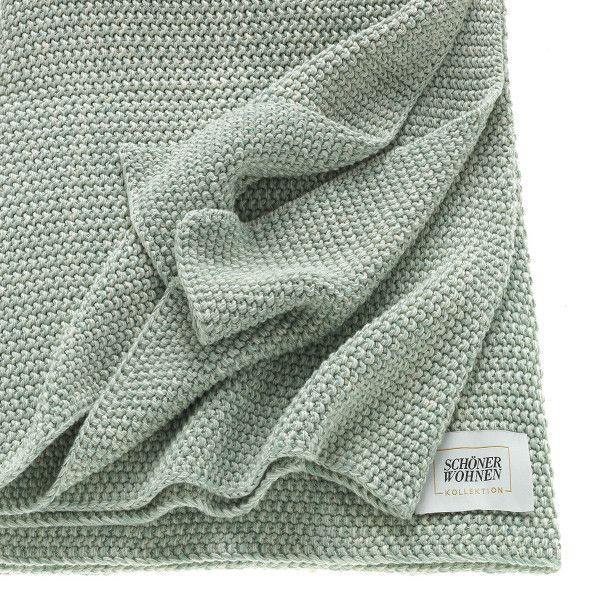 Schoner Wohnen Kollektion Decke Melange Tagesdecke Decke Farbtrends