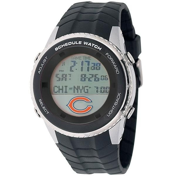 Licensed NFL Chicago Bears Schedule Watch https://www.fanprint.com/licenses/chicago-bears?ref=5750